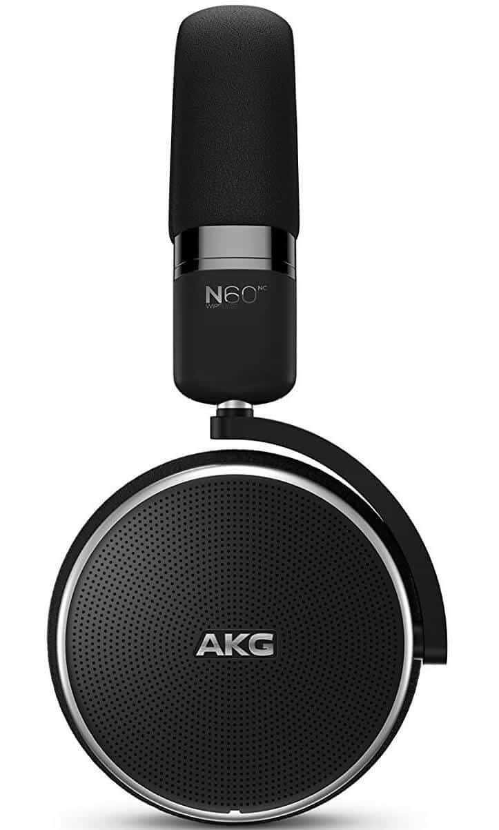AKG Noise Cancelling Headphones N60NC Wireless Bluetooth - Black - GP-N060HAHCAAA