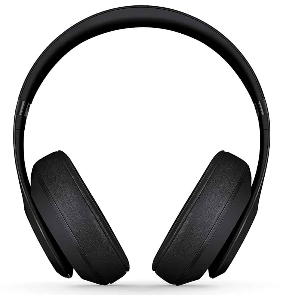 Beats Studio3 Wireless Noise Cancelling On-Ear Headphones - Apple W1 Headphone Chip, Class 1 Bluetooth, Active Noise Cancelling, 22 Hours of Listening Time - Matte Black (Previous Model)