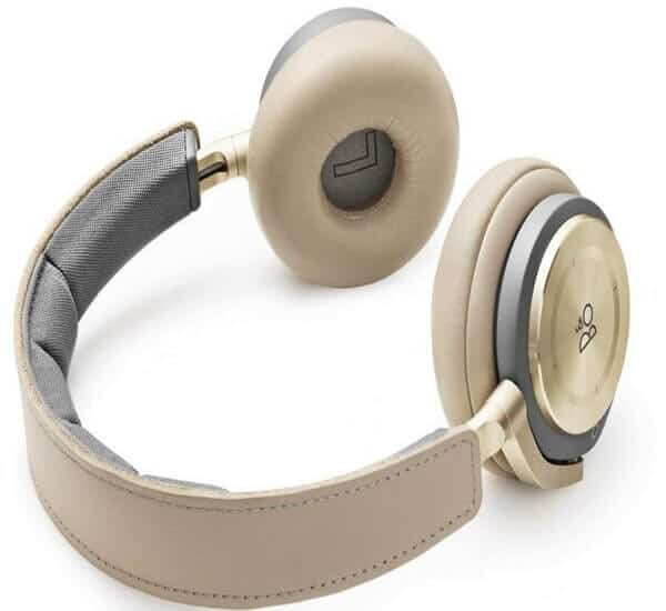 B&O Play by Bang & Olufsen Beoplay H8 Wireless On-Ear Headphone with Active Noise Cancelling, Bluetooth 4.2 (Argilla Bright)