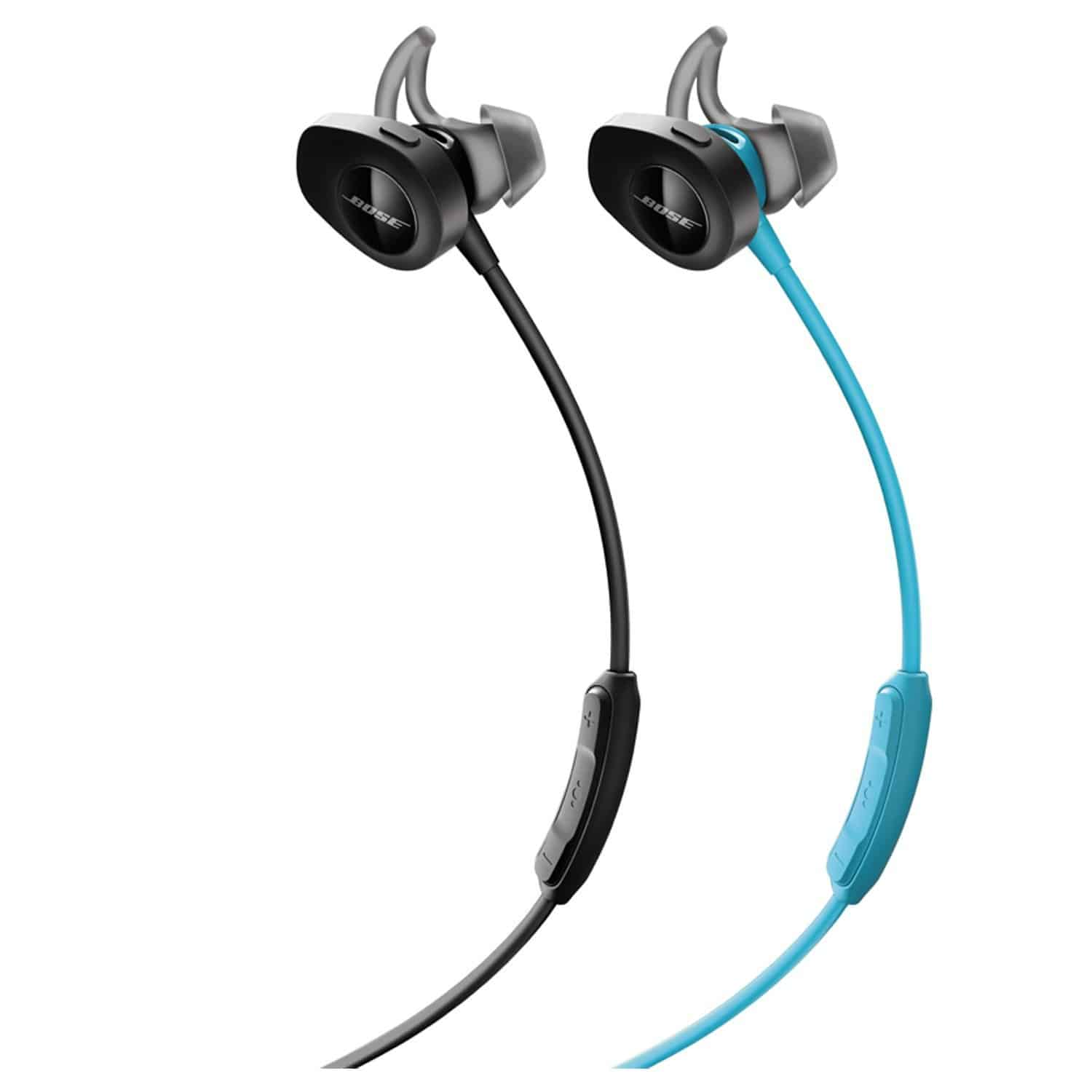 Bose SoundSport Wireless, Sweat Resistant, In-Ear Headphones, Aqua