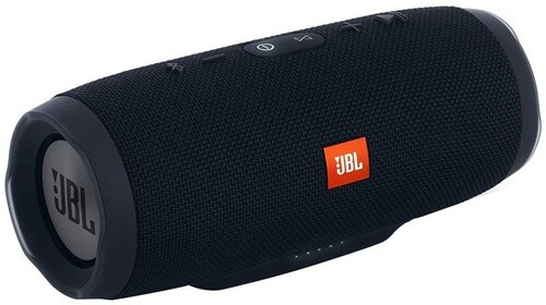 JBL Charge 3 Portable Bluetooth Waterproof Speaker - Black