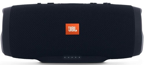 JBL Charge 3 Waterproof Portable Bluetooth Speaker (Black), 1