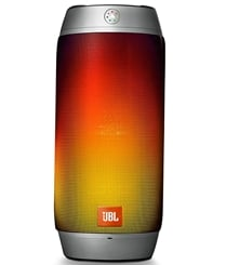 JBL Pulse 2 Portable Splashproof Bluetooth Speaker (Silver)