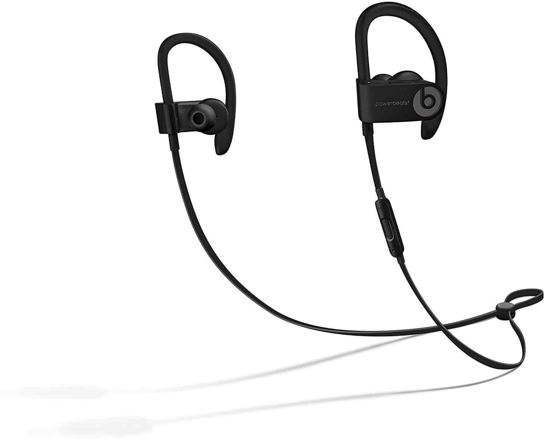 Powerbeats3 Wireless Earphones - Apple W1 Headphone Chip, Class 1 Bluetooth, 12 Hours Of Listening Time, Sweat Resistant Earbuds - Black