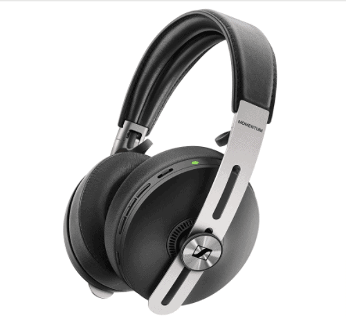 Sennheiser Momentum 3 Wireless Noise Cancelling Headphones with Alexa, Auto On/Off, Smart Pause Functionality and Smart Control App, Black