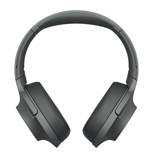 Sony - H900N Hi-Res Noise Cancelling Wireless Headphone Grayish Black (WHH900N/B)