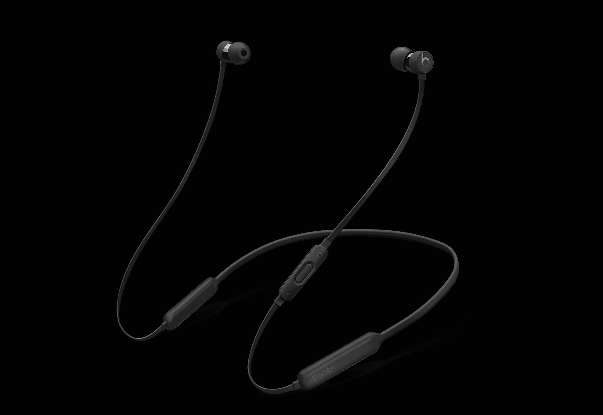 BeatsX Wireless Earphones - Apple W1 Headphone Chip, Class 1 Bluetooth, 8 Hours Of Listening Time - Black